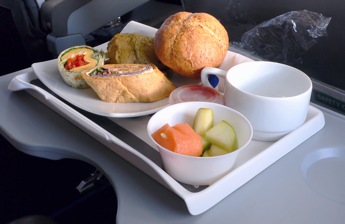 airline food, travel