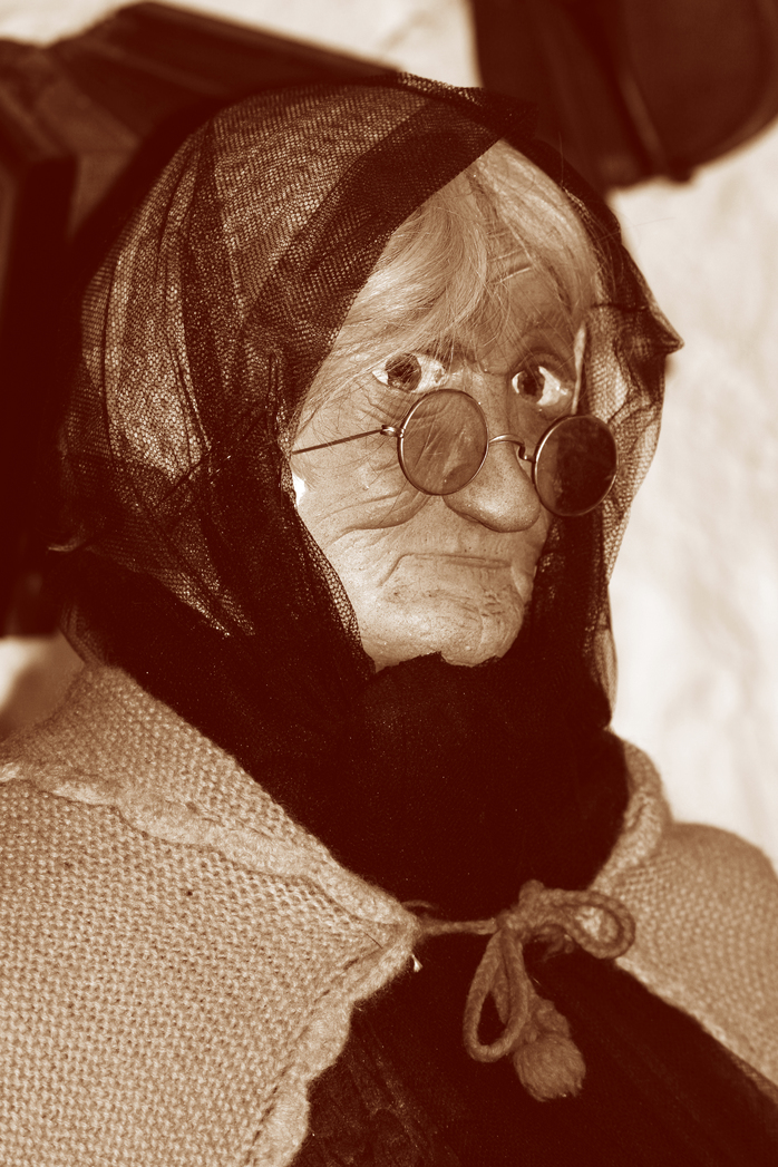 An old lady. Image by Clarita via morgueFile.