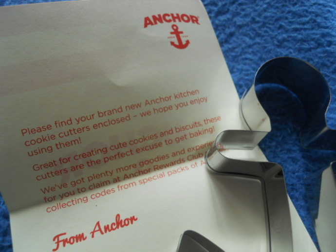 anchor, rewards, cookie cutter