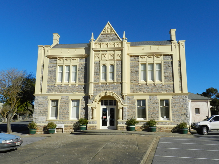 Angaston Town Hall built in 1911 (Barossa Valley)