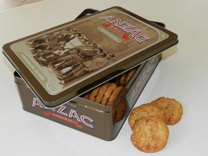 ANZAC biscuits (Image by Gayle Beveridge)