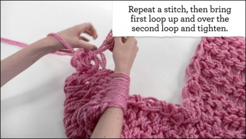 arm,knitting  - Have you ever tried ARM KNITTING?