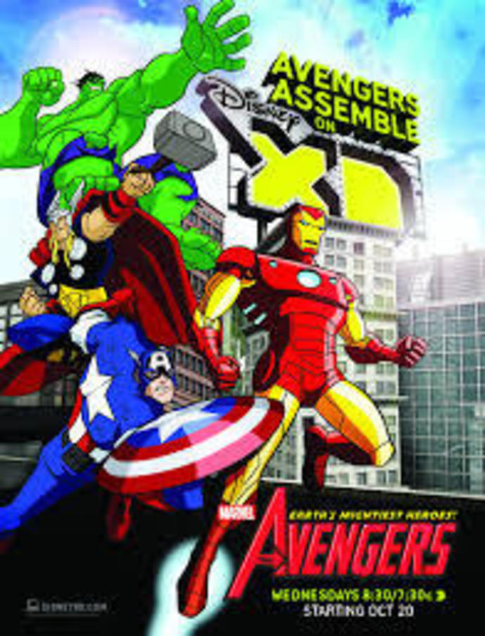 Avengers, cartoon