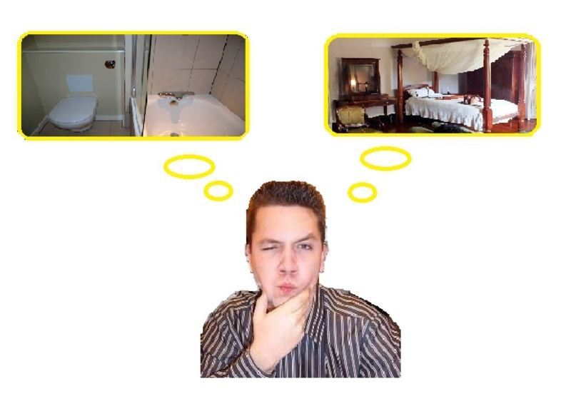 Bathroom or Bedroom? In which do you get the most inspiration?