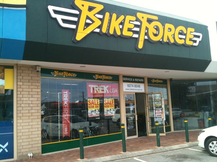 bicycle retail outlet