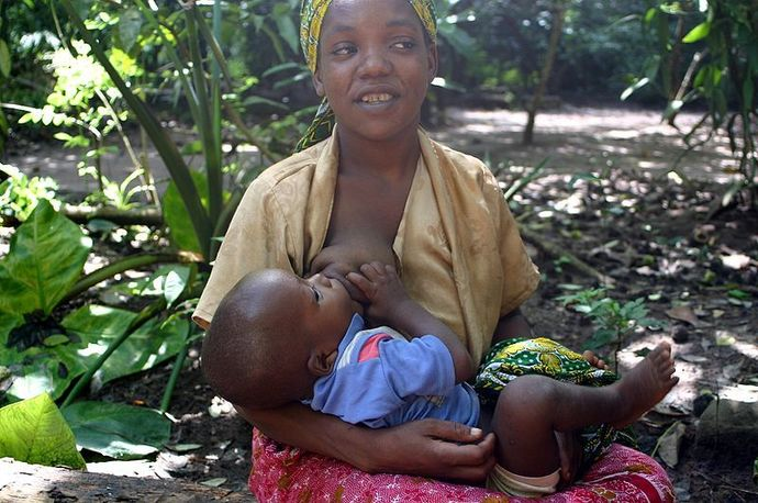 breastfeeding in Zanzibar