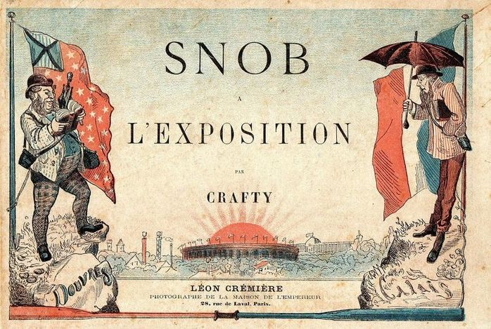 By Crafty (d. 1906) (Book Snob à l'exposition, 1867 via Wikimedia Commons