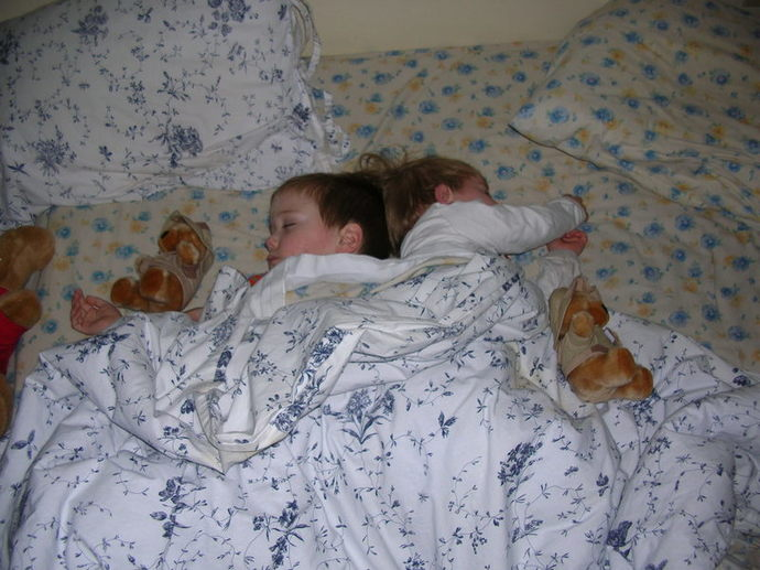Children sleeping