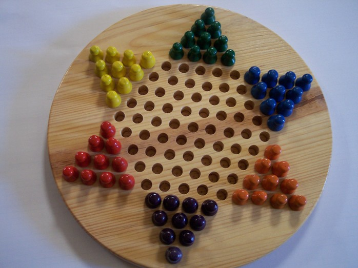Chinese checkers.