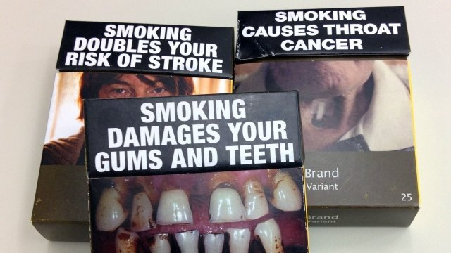 cigarettes  - Is the use of plain packaging for cigarettes effective?