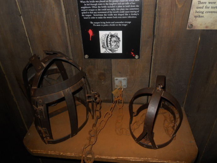 clink museum, torture devices