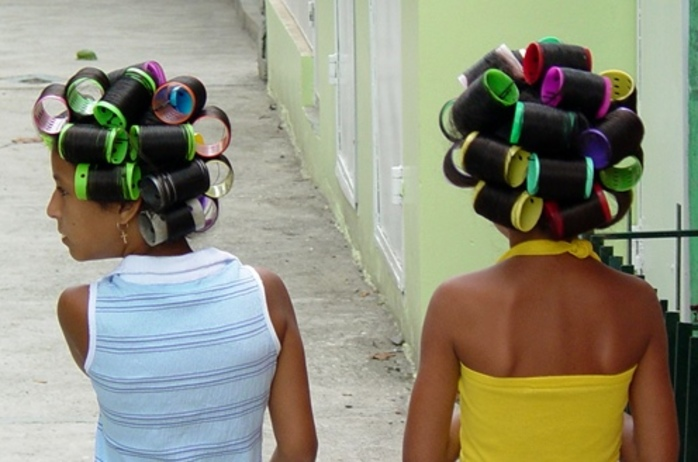 did,you,used,to,wear,rollers,or,curlers,in,your,hair