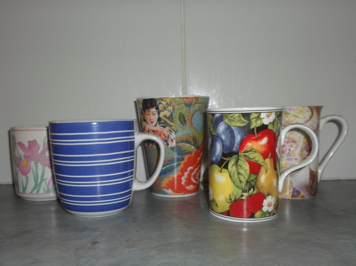 Different coffee mugs