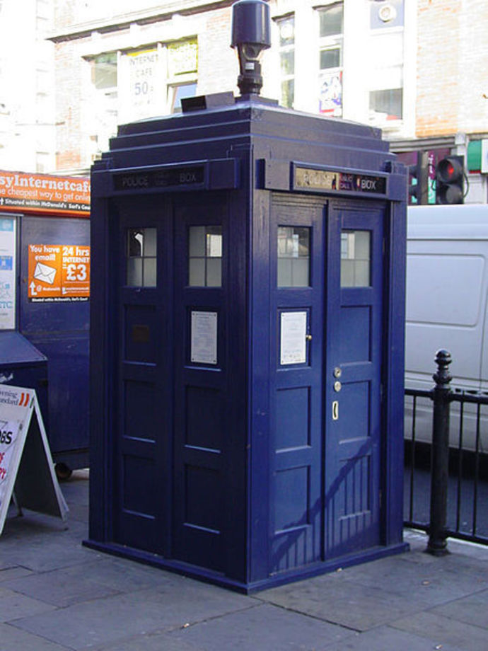 Doctor Who, Police Box, Tardis