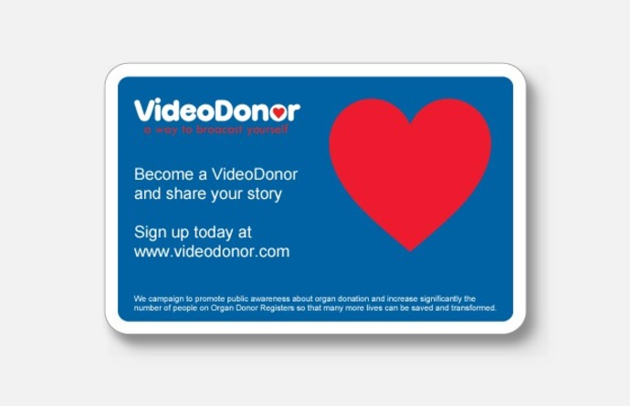 Donation card