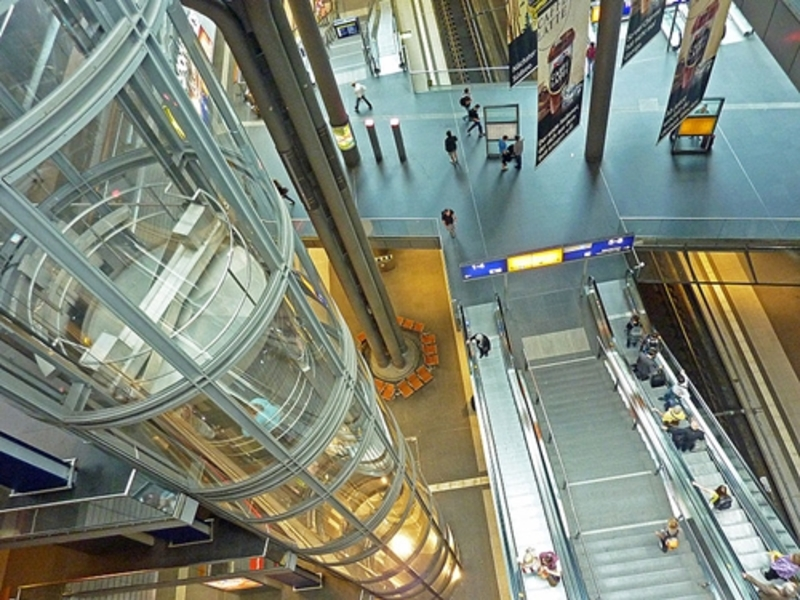 escalator  - Does your heart flutter in an elevator or escalator?