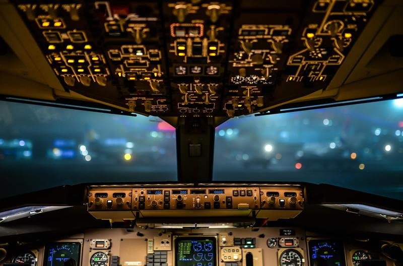 Flight simulator by Aureliy via morgueFile  - Have you ever been in a flight simulator and would you like to give it a go?