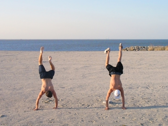 Hand stands (Photo by clconroy via morguefile)