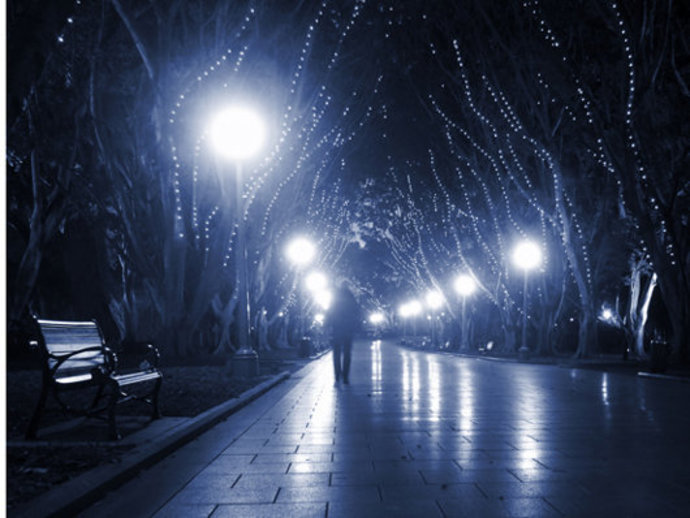 how to be safe when walking alone, walking alone at night,