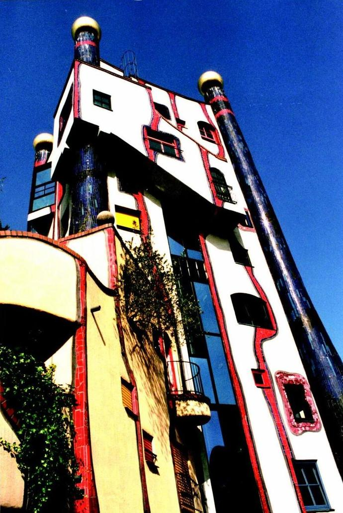 Hundertwasserhaus Germany house architecture