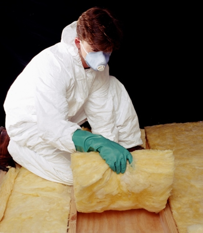 Is your house insulated and if so with what answer angels for Glass fiber blanket insulation