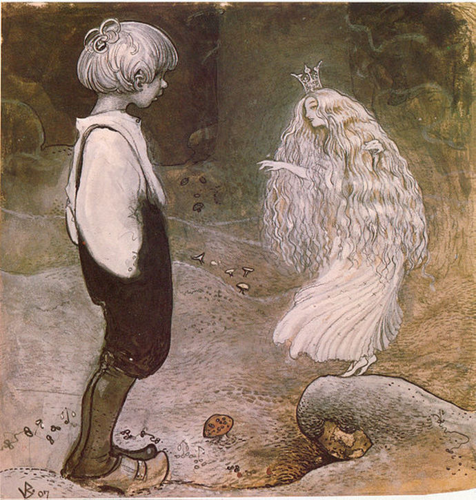 John Bauer,  Alfred Smedberg, Among pixies and trolls