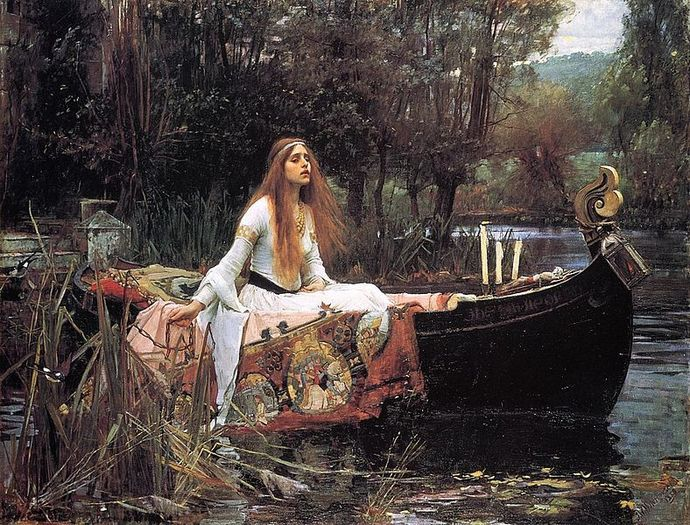 lady of shalott, Waterhouse