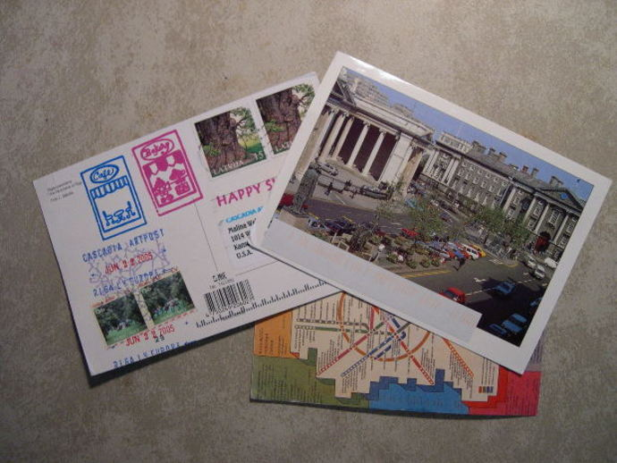 letters, postcards, greeting cards, mail, post