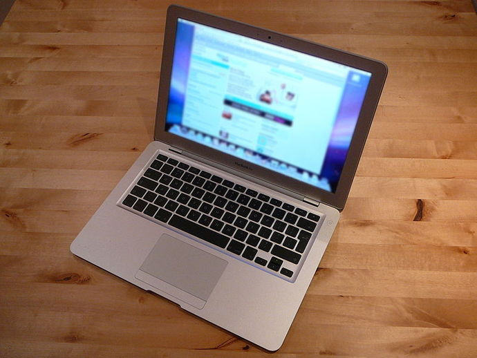 macbook air, laptop