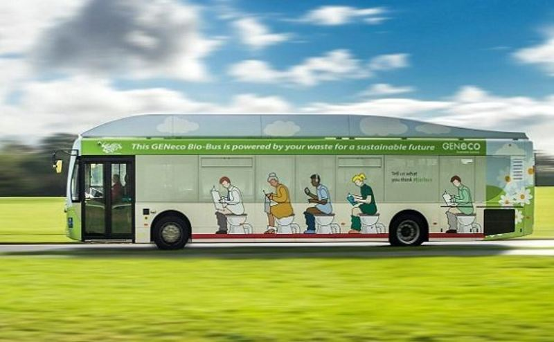 poo bus number two bio fuel public transport environment  - Would you ride on the poo bus?