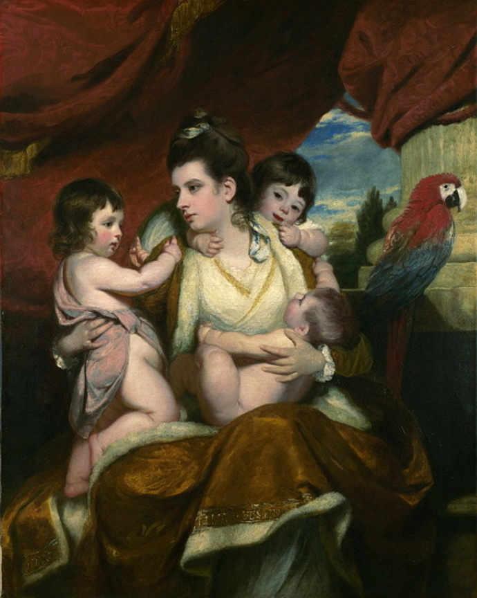 Portrait of Lady Cockburn, Sir Joshua Reynolds