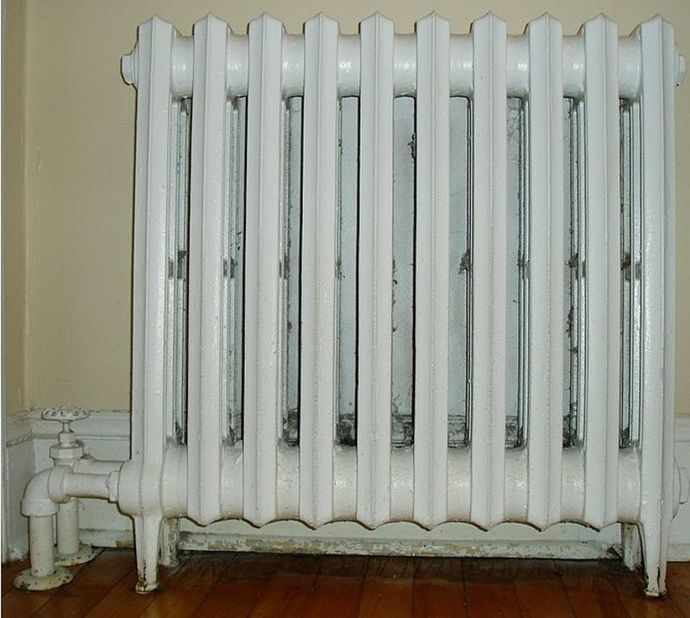 radiator heating warmth