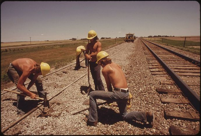 railway workers, kansas