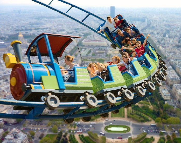 Rollercoaster - Photo in the Public Domain via Pixabay