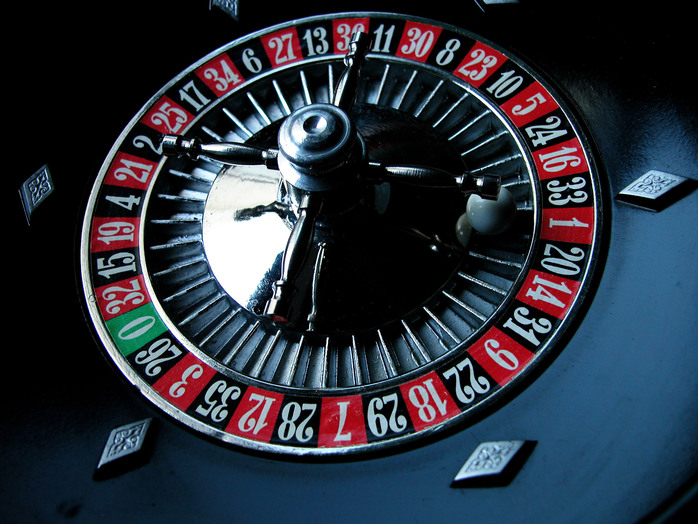 Roulette wheel by clarita via morguefile