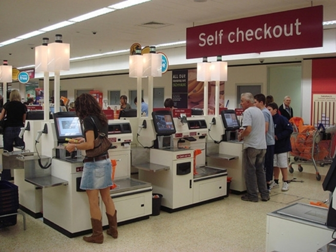 self,service,checkout,at,supermarket
