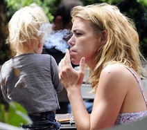 Do you think its acceptable for parents to smoke