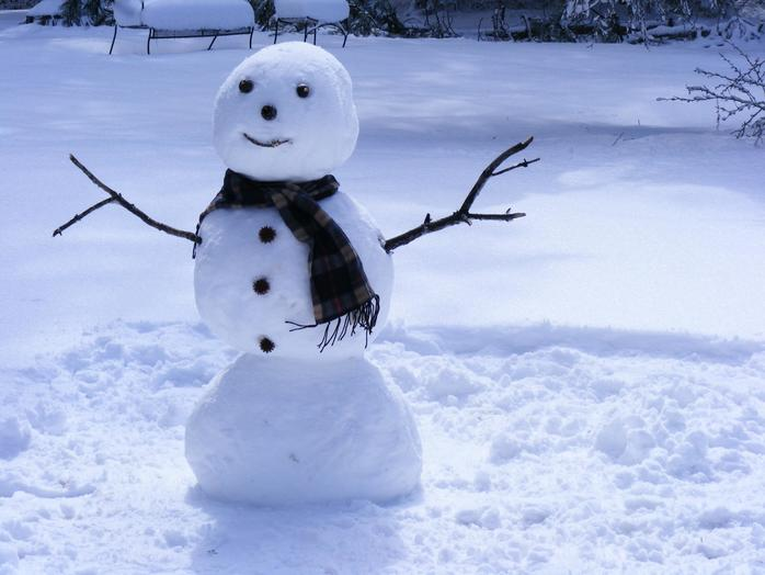 Snowman (Image by DodgertonSkillhaus via morgueFile)