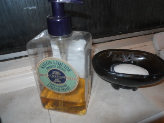 soap, l'occitane, dove