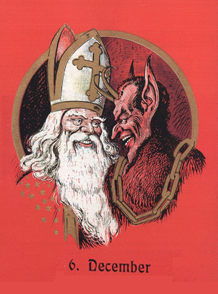 St Nicholas and Krampus