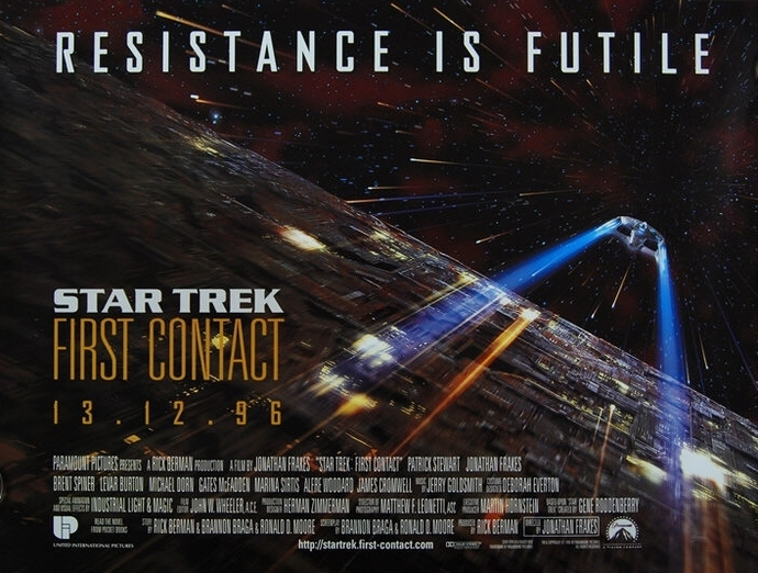 star trek, first contact, trekcore