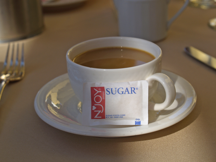 sugar salt coffee cup table health