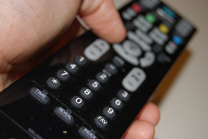 television remove control