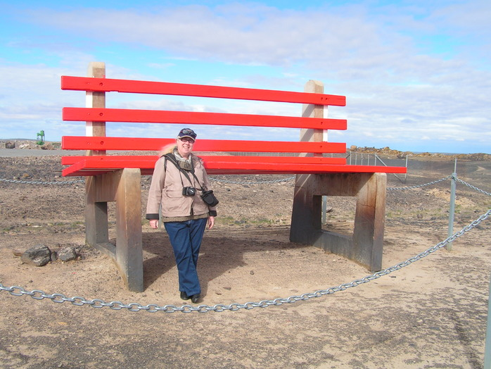 The Big Chair at Broken Hill by Roger Marien (my husband)