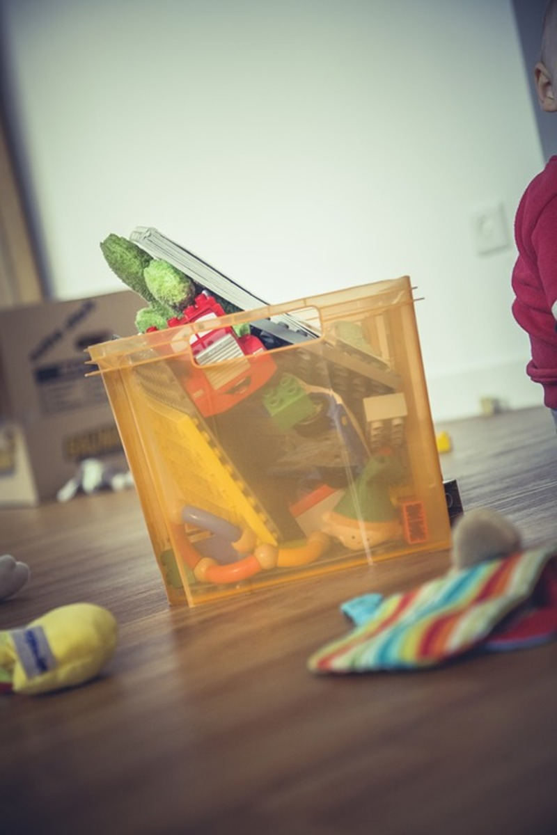 toys in a box  - Do you need more storage or less stuff?