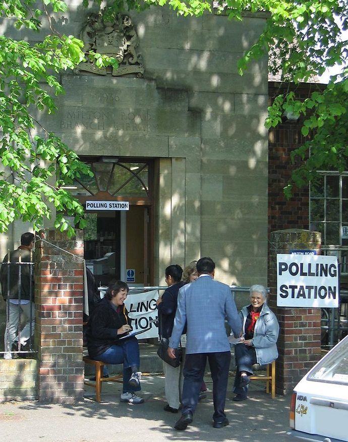 voting election polling-station