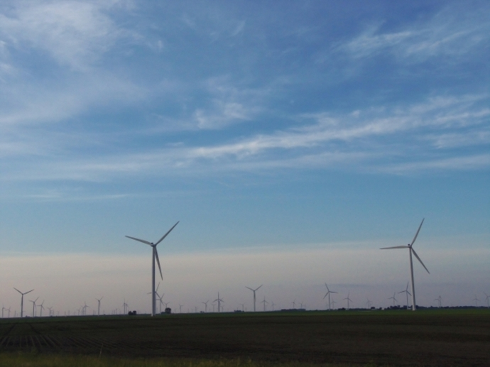wind turbines, renewable energy, environment