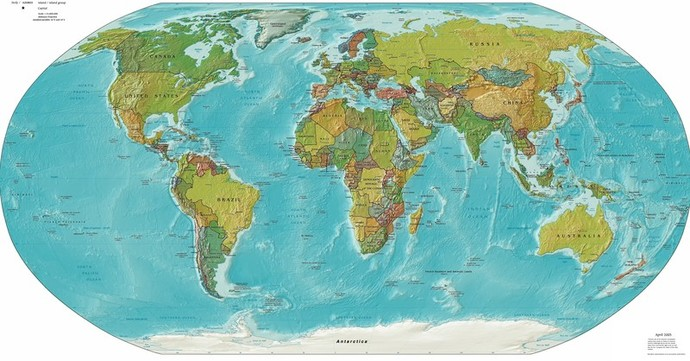 world map globe geography atlas
