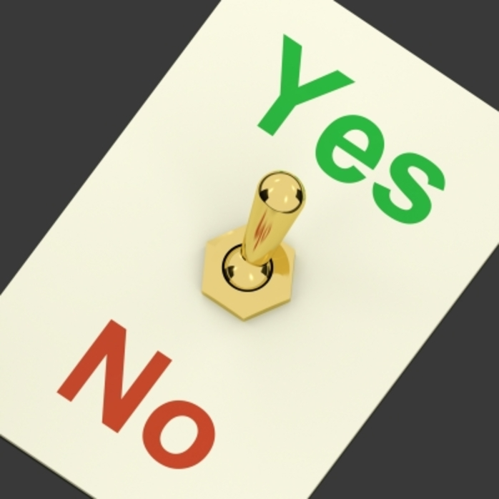 Yes No switch refuse treatment medical ethics