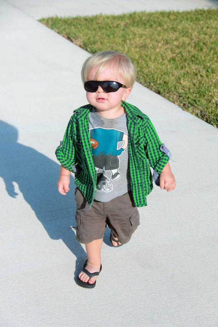Young Boy with Sunglasses (Image, coolbaby, by AimeeLow via morgueFile)